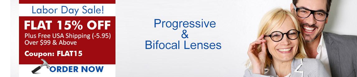 Progressive/Bifocal Eyeglasses at GlobalEyeglasses.com
