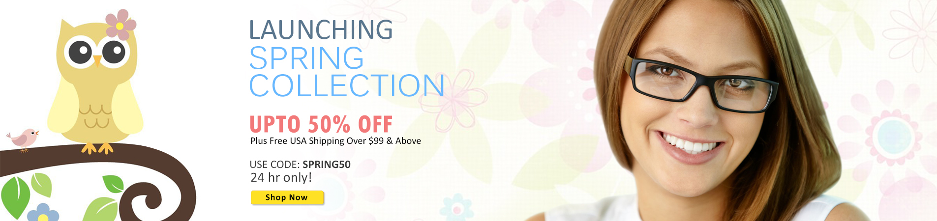 Spring 2015 Collection Sale - 24 Hours Only